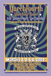 Marchforth Marching Band's 6th Anniversary Spectacular
