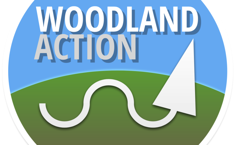 Designing a new identity for Woodland Action